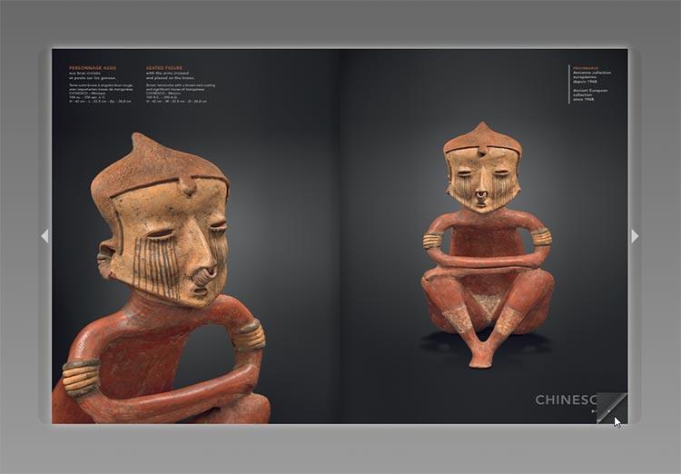 catalogue d'exposition numérique